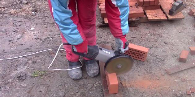 Как сделать мангал из кирпича своими руками: заготовьте фигурные элементы