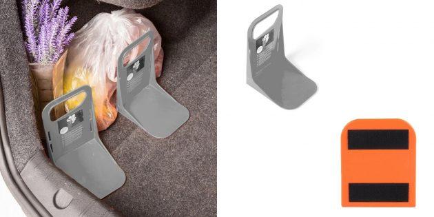 Мелочи для автомобиля: фиксатор для багажа