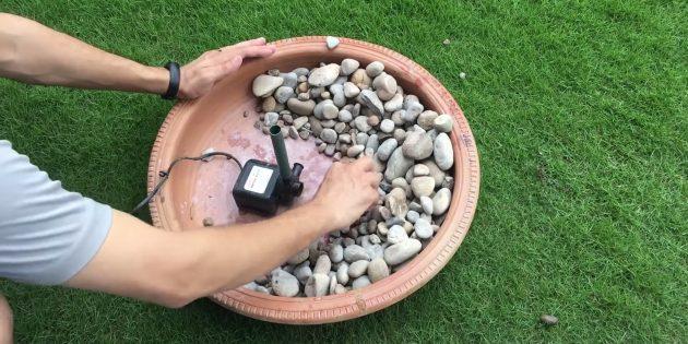 Как сделать фонтан своими руками: начните собирать конструкцию