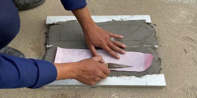 Как сделать фонтан своими руками: приложите шаблон