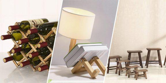 10 деревянных аксессуаров с AliExpress, которые украсят дом и помогут в хозяйстве