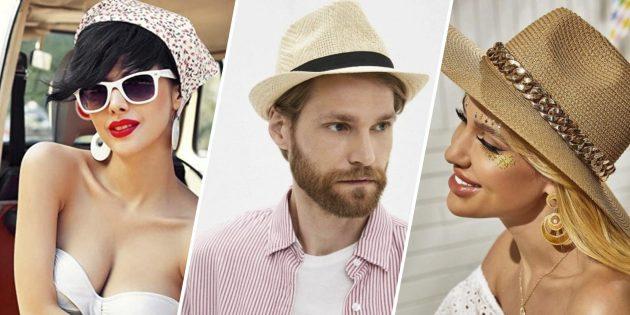 12 стильных головных уборов, которые защитят от солнца и дополнят летний образ