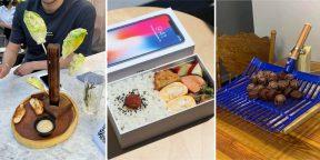 15 фото необычной подачи блюд и коктейлей в ресторанах и барах