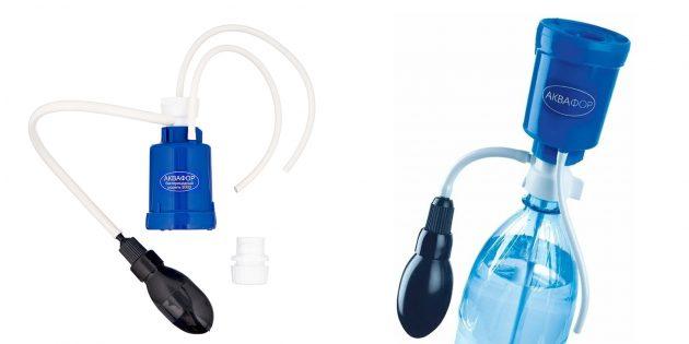 Портативный очиститель жидкости «Аквафор Универсал»