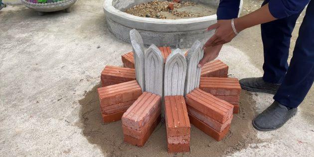 Как сделать фонтан своими руками: сделайте цветок из лепестков