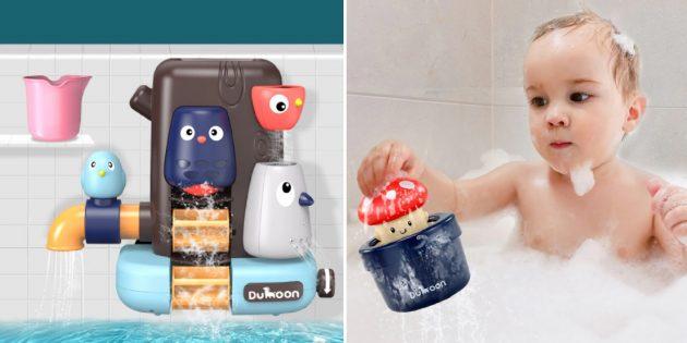 Детские товары: игрушки для ванной