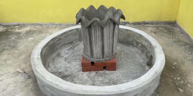 Как сделать фонтан своими руками: установите кувшинку