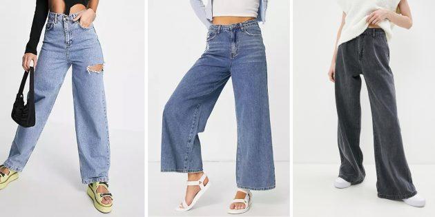 Модные женские джинсы — 2021: мешковатые джинсы