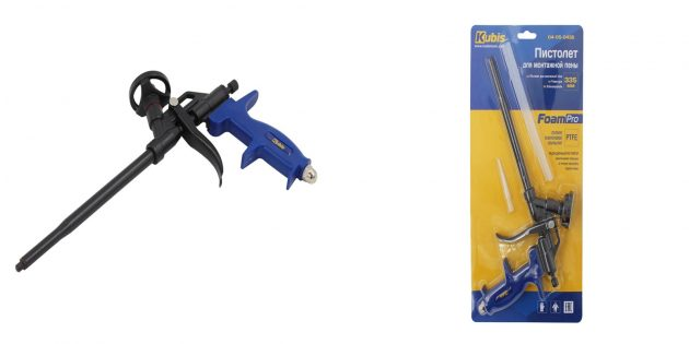 Полезные вещи для ремонта своими руками: пистолет для монтажной пены