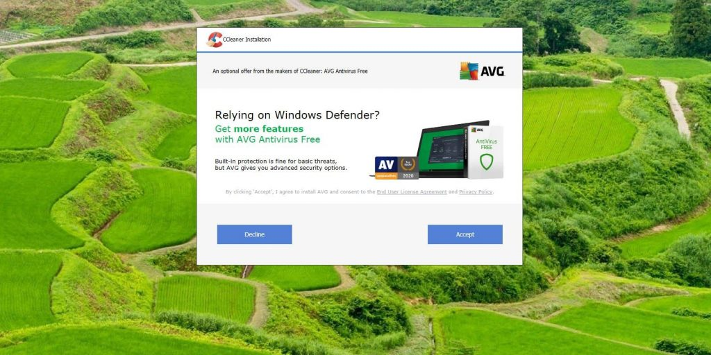 Microsoft считает CCleaner ненадёжным приложением