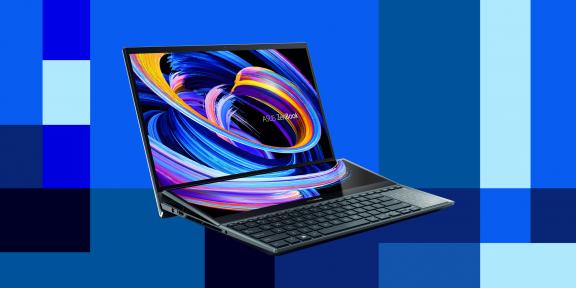 Два экрана, современный дизайн и ультрапродуктивность. Что нужно знать о новом ASUS ZenBook Pro Duo 15 OLED