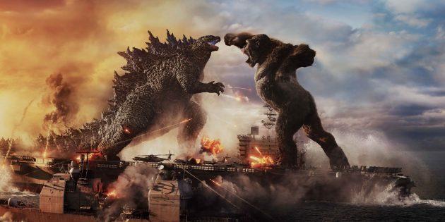Невероятные существа: бой Годзиллы и Конга. Кадр из фильма: «Годзилла против Конга»