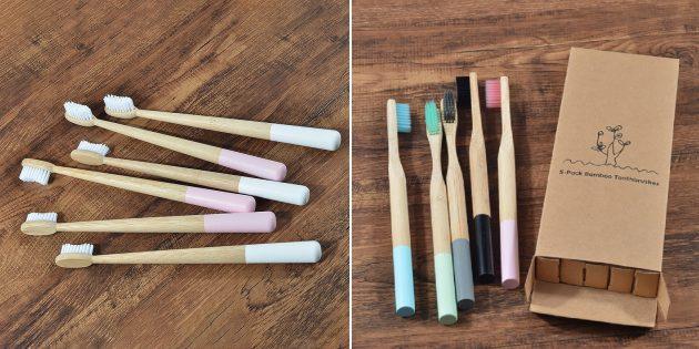 Экотовары: бамбуковые зубные щётки
