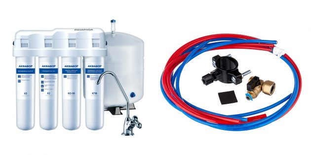 Фильтры для воды под мойку: «Аквафор ОСМО-Кристалл 50»