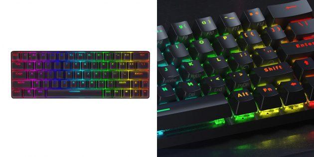 Игровые механические клавиатуры с AliExpress: BlitzWolf BW-KB1