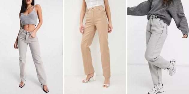 Модные женские джинсы — 2021: джинсы нейтральных оттенков