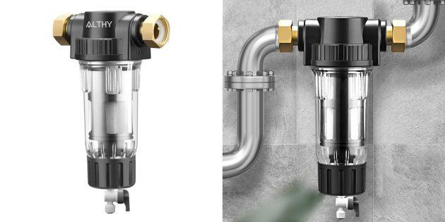 Магистральные фильтры для воды: Althy AL-PRE1