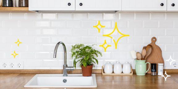 7 способов поддерживать порядок на кухонной столешнице