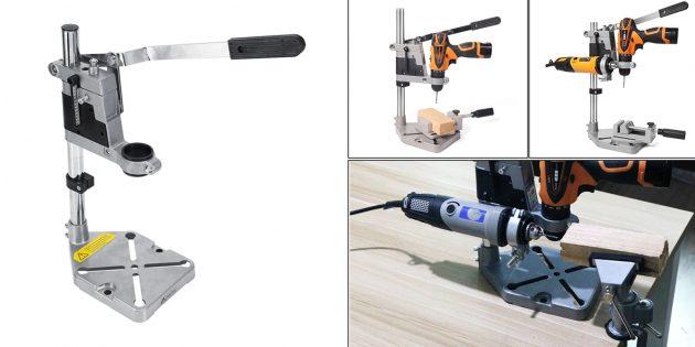 Полезные вещи для ремонта своими руками: направляющая стойка для дрели