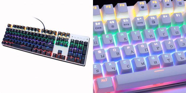 Игровые механические клавиатуры с AliExpress: Metoo Zero