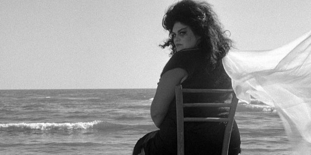 Кадр из фильма Федерико Феллини «8 с половиной»