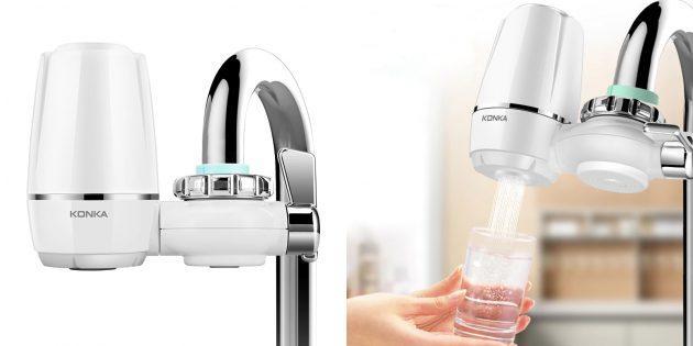 Очиститель жидкости — насадка Konka