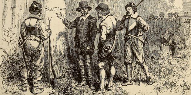Загадки истории: колония Роанок
