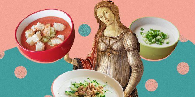 5 освежающих холодных супов, которые легко приготовить