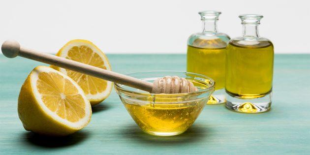 Лимонно-медовая заправка с уксусом