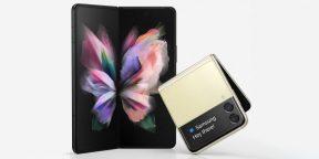 Инсайдер показал складные Samsung Galaxy Z Fold 3 и Z Flip 3