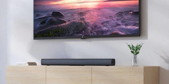 Цена дня: саундбар Xiaomi Redmi TV за 2627 рублей