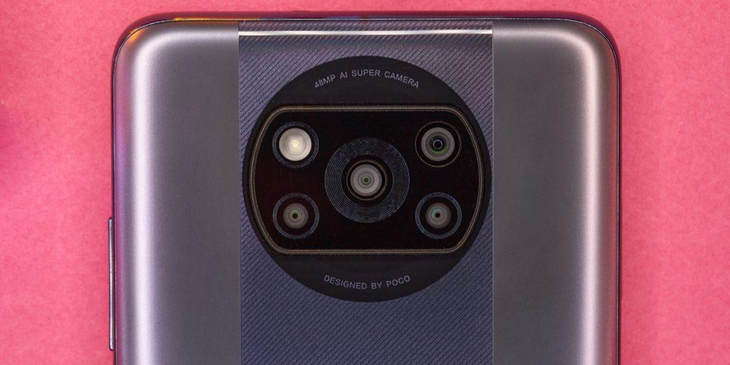 Смартфон Poco X3Pro: камеры