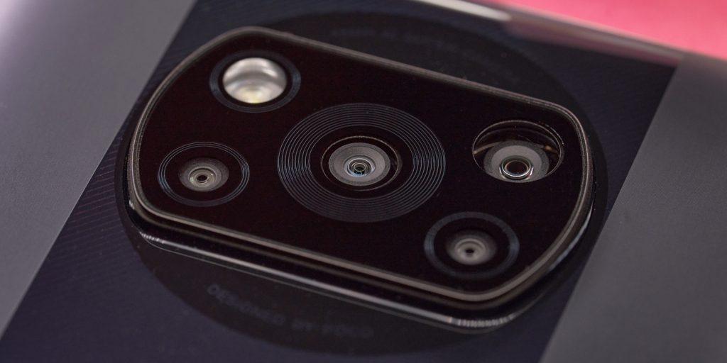 Смартфон Poco X3Pro: блок камер