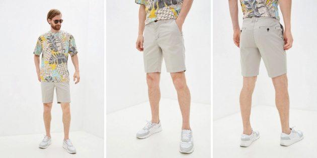 Летняя одежда: мужские шорты