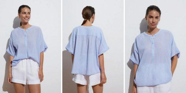 Летняя одежда: женская блуза