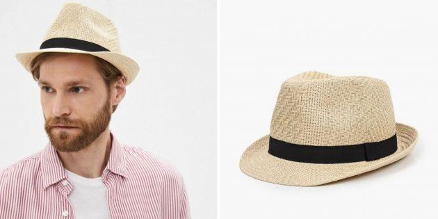 Головные уборы на лето: мужская соломенная шляпа