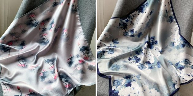 Головные уборы на лето: платок