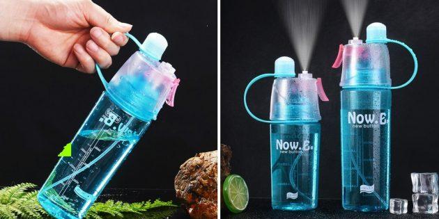 Бутылка с пульверизатором