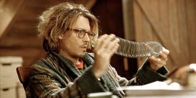 Кадр из фильма с Джонни Деппом «Тайное окно»