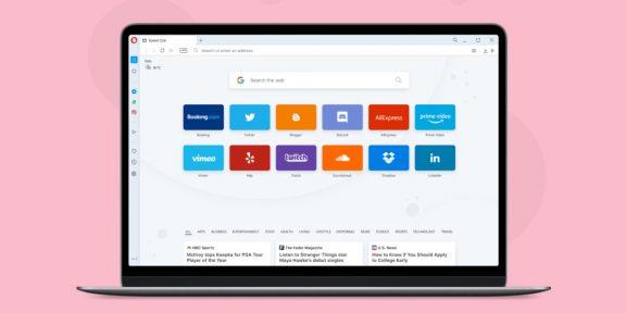 Видеозвонки в окне, поиск вкладок и доска для сохранёнок: браузер Opera получает крупное обновление