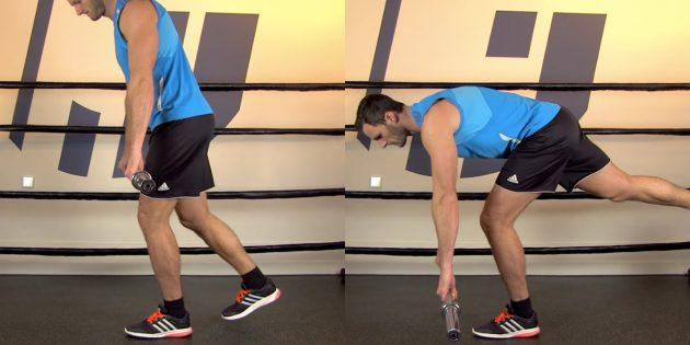 Как укрепить средние ягодичные мышцы: упражнение становая тяга