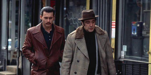 Кадр из фильма с Джонни Деппом «Донни Браско»