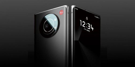 Leica представила свой первый смартфон Leitz Phone 1 с самым большим фотосенсором