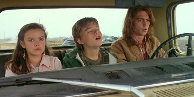 Кадр из фильма с Джонни Деппом «Что гложет Гилберта Грейпа?»