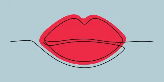 Как нарисовать губы: 17 простых инструкций