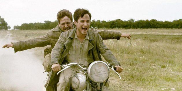 Кадр из фильма про байкеров «Че Гевара: Дневники мотоциклиста»