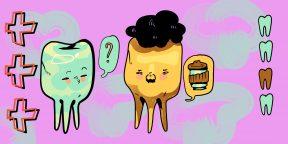 Почему чернеют зубы и что с этим делать