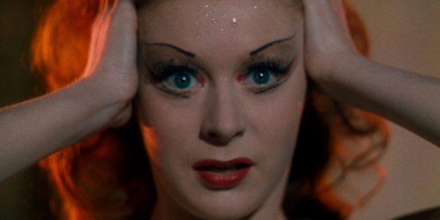 Кадр из фильма про балет «Красные башмачки»