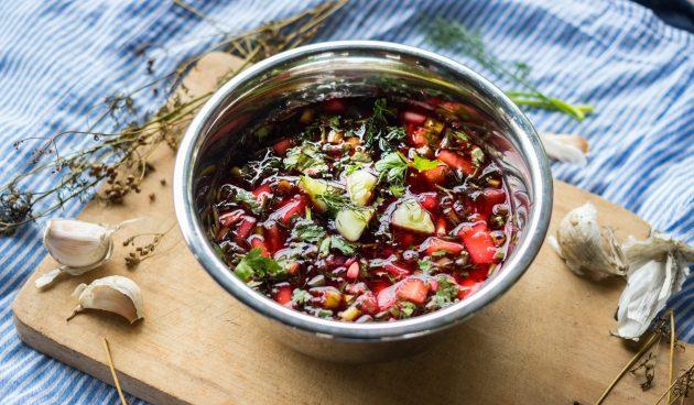 Чриантели — холодный грузинский суп