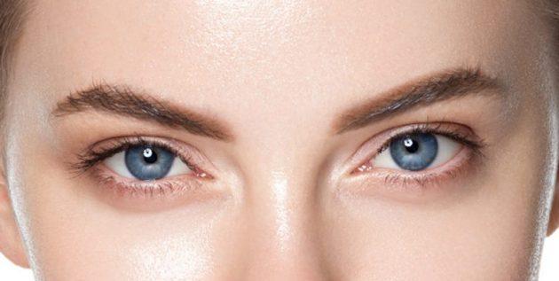 Как определить форму глаз: «приподнятые» глаза
